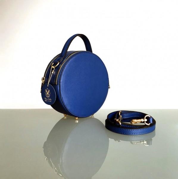 Circle Handbag in der Farbe dunkelblau (Batta)